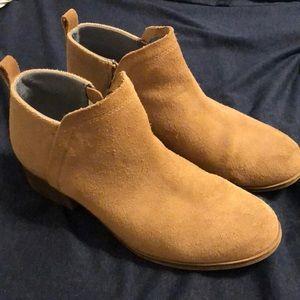 Toms Cognac Booties